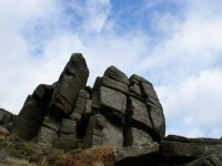 Gritstone outcrop