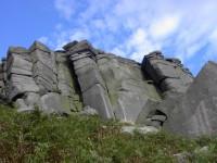 Stanage edge gritstone