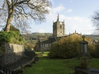 Wirksworth Parish Church (2 minutes from N0.